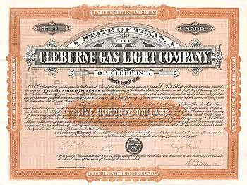 Cleburne Gas Light Company