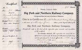 Big Fork & Northern Railway