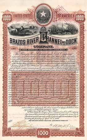 Brazos River Channel and Dock Co.