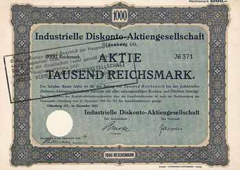 Industrielle Diskonto-AG