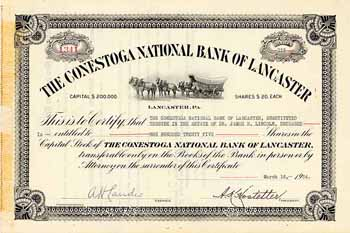 Conestoga National Bank of Lancaster