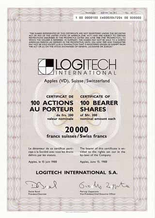 Logitech International