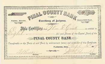 Pinal County Bank