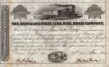 Buffalo & State Line Railroad