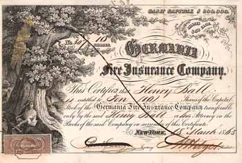 Germania Fire Insurance Co.
