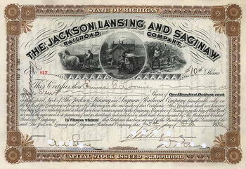 Jackson, Lansing & Saginaw Railroad