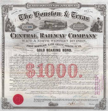Houston & Texas Central Railway