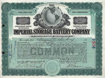 Imperial Storage Battery Co.