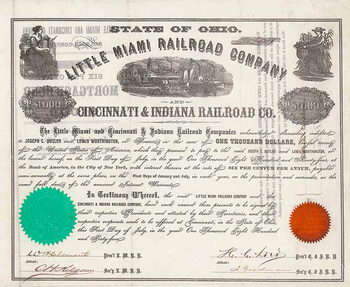 Little Miami Railroad & Cincinnati & Indiana Railroad Co.