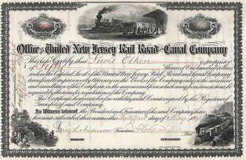 United New Jersey Railroad & Canal Co.