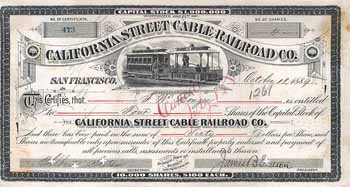 California Street Cable Railroad