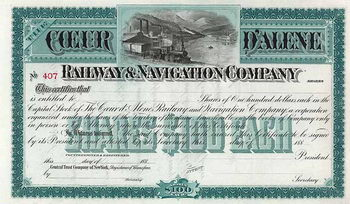 Coeur d'Alene Railway & Navigation Co.