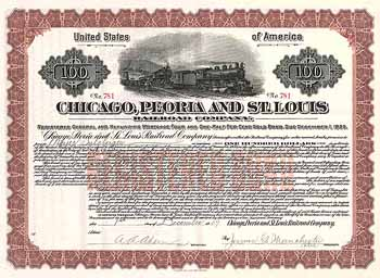 Chicago, Peoria & St. Louis Railway