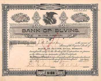 Bank of Elvins