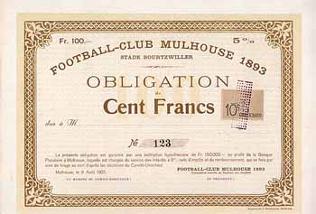Football-Club Mulhouse 1893 Stade Bourtzwiller
