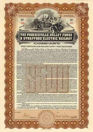 Phoenixville, Valley Forge & Strafford Electric Railway