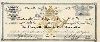Placerville Masonic Hall Association