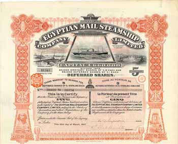 Egyptian Mail Steamship Co. Ltd.