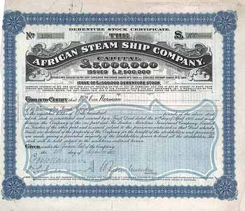 African Steam Ship Co.
