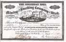Sheridan Hill Mining and Smelting Co. of Utah