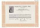 Fidelity Fund, Inc.