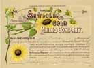 Sunflower Gold Mining Co.