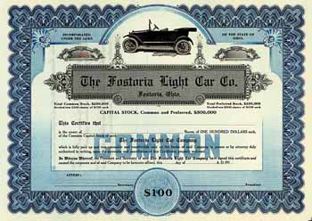 Fostoria Light Car Co.