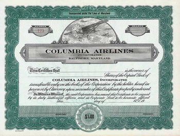 Columbia Airlines, Inc.