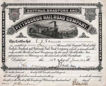 Buffalo, Bradford & Pittsburgh Railroad