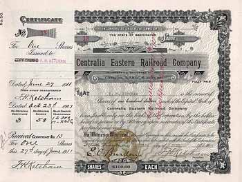 Centralia Eastern Railroad