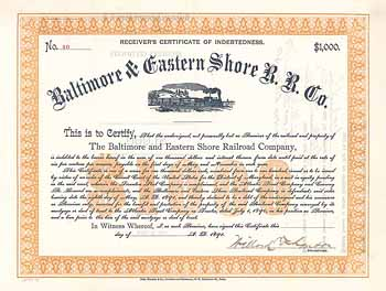 Baltimore & Eastern Shore Railroad