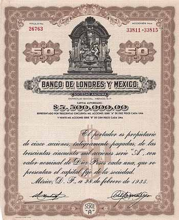 Banco de Londres y Mexico S.A.