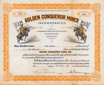 Golden Conqueror Mines Inc.