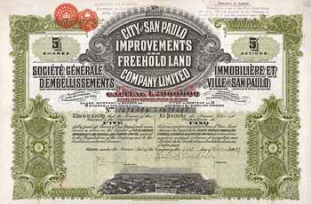 City of San Paulo Improvements & Freehold Land Co.