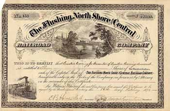 Flushing, North Shore and Central Railroad