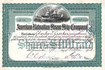 American-Hawaiian Steam Ship Co.