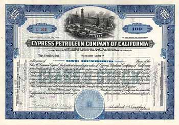 Cypress Petroleum Co. of California