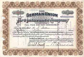 German Union Fire Insurance Co.