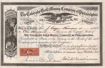 Colorado Gold Mining Co. of Philadelphia