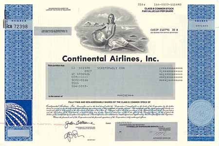 Continental Airlines Inc.