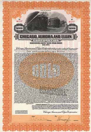 Chicago, Aurora & Elgin Corp.