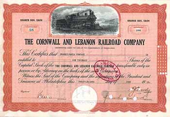 Cornwall & Lebanon Railroad