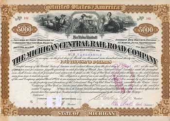 Michigan Central Railroad (OU Cornelius Vanderbilt II)